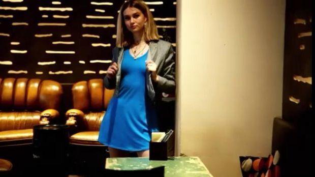 Kleid_Blau Nike