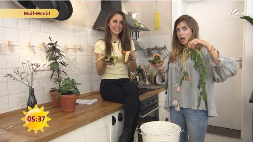 Müll-Menü mit Cathy Hummels: Kokos-Bananenschalen-Pancakes!
