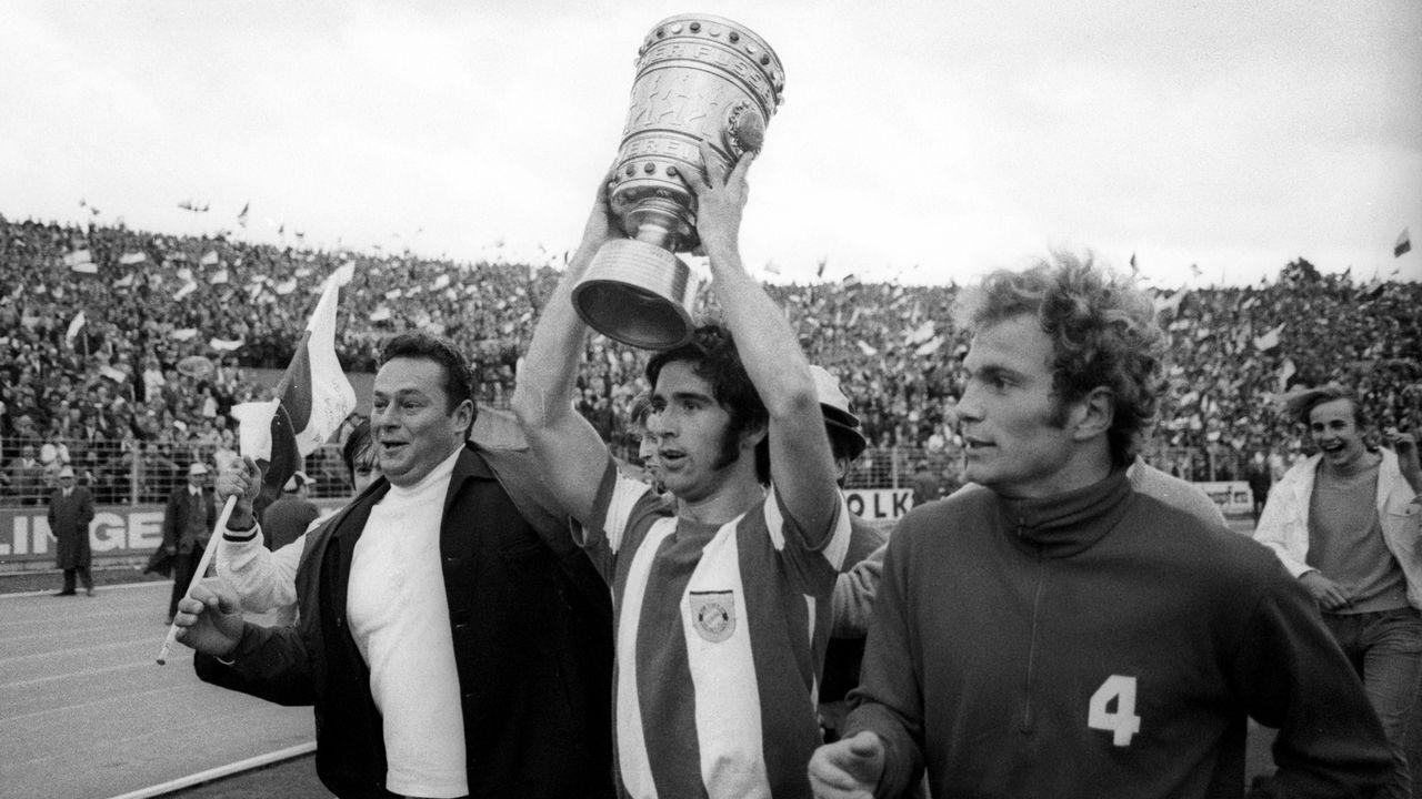 Die meisten Pokaltore: Gerd Müller, 78 - Bildquelle: Imago