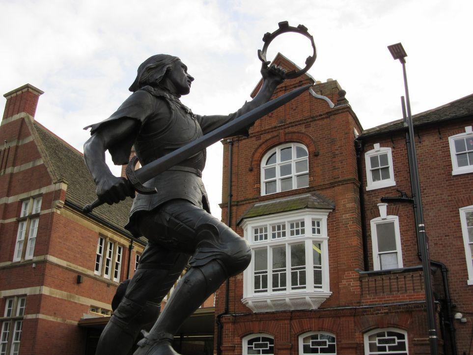 Richard III: Der im Jahr 1485 in der Schlacht von Bosworth gefallene englische Herrscher war von seinen Feinden zunächst nackt zur Schau gestellt un... - Bildquelle: 2014, The Travel Channel, L.L.C. All Rights Reserved.