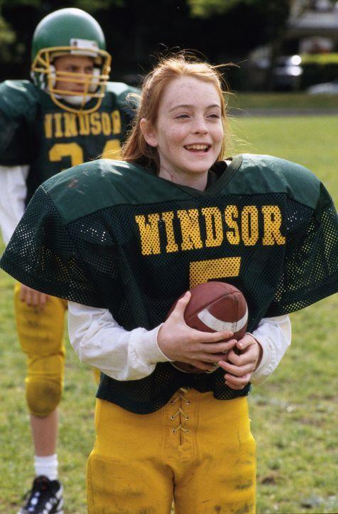 Die kleine Casey (Lindsay Lohan) kommt nicht über den Tod ihrer Mutter hinweg. Sie würde alles tun, um sie wieder zurückzubekommen. Da probiert s... - Bildquelle: Disney