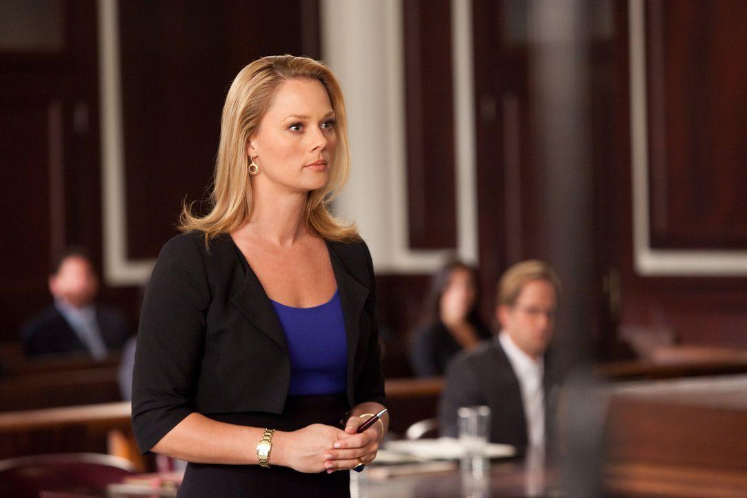 Kim (Kate Levering) und Parker sind an einem neuen Fall dran. Sie verteidigen A.J. Fowler, den Produzenten einer TV-Datingshow, der von einem seiner... - Bildquelle: 2009 Sony Pictures Television Inc. All Rights Reserved.