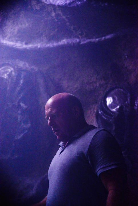 Big Jim (Dean Norris) will die Gemeinschaft mit drastischen und gefährlichen Mitteln bekämpfen ... - Bildquelle: Brownie Harris 2015 CBS Studios Inc.