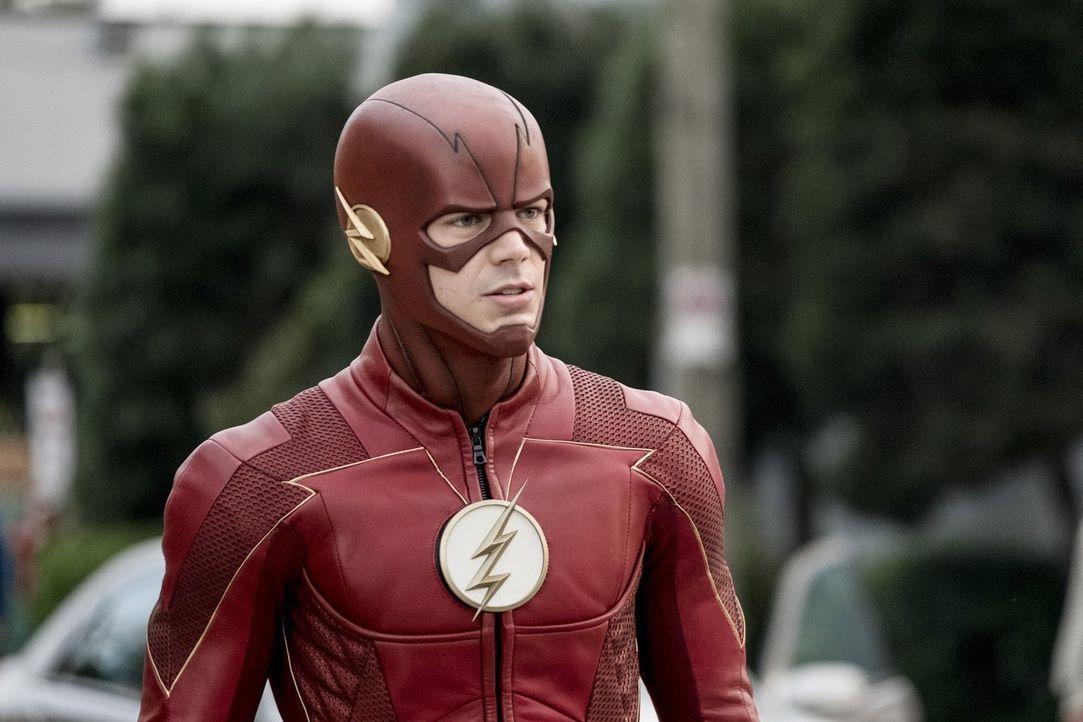 Die Zusammenarbeit mit Ralph gestaltet sich für Barry alias The Flash (Grant Gustin) schwieriger als angenommen. Unterdessen machen Cisco und Harry... - Bildquelle: 2017 Warner Bros.