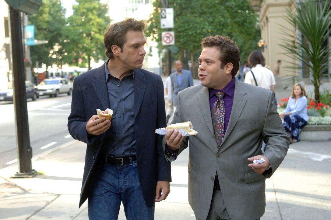 Ein ungleiches Paar: Charlie (Dane Cook, l.) und Freund Stu (Dan Fogler, r.) ... - Bildquelle: 2007 Lions Gate Films, Inc. All Rights Reserved.
