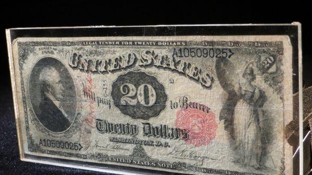 Don Wildman befasst sich mit einem besonderen und Jahrzehnte alten 20-Dollar...