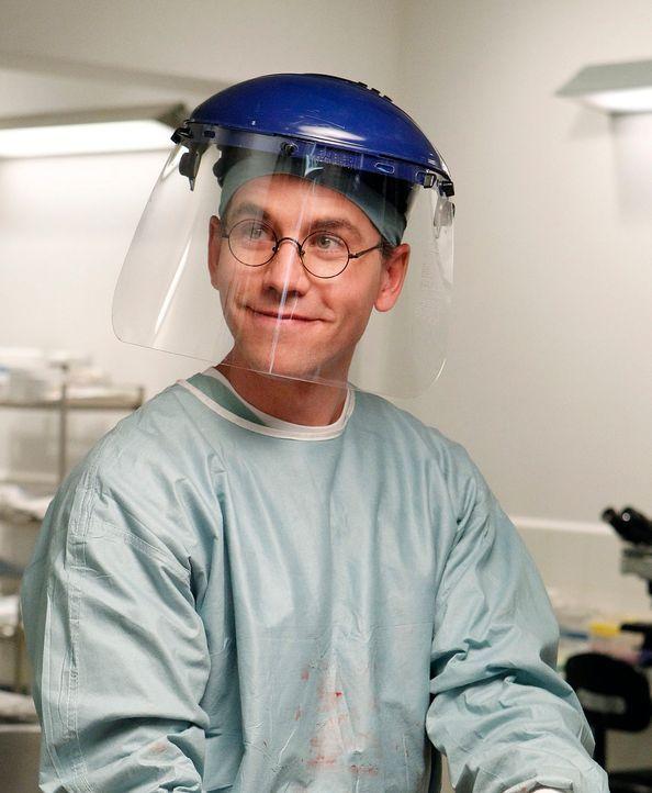 Arbeitet an einem neuen Fall: Jimmy Palmer (Brian Dietzen) ... - Bildquelle: CBS Television
