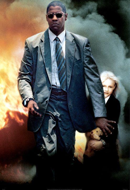 Nachdem der ehemalige CIA-Agent John W. Creasy (Denzel Washington) seine Schutzbefohlene an eiskalte Kidnapper verloren hat, begibt er sich auf eine... - Bildquelle: 2004 Epsilon Motion Pictures