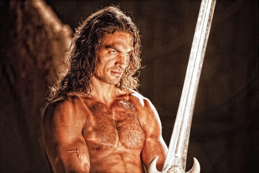 Langsam wird Conan (Jason Momoa) klar, dass es im Kampf gegen Khalar Zym um weit mehr geht, als um die Begleichung einer alten Rechnung ... - Bildquelle: Nu Image Films