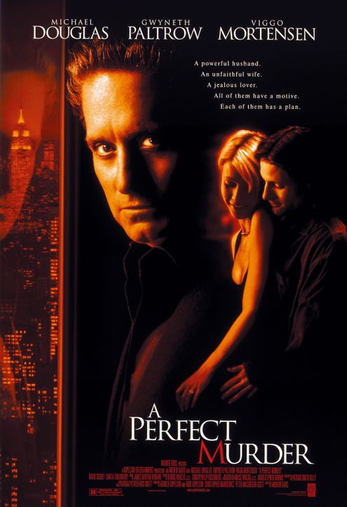 """Ein perfekter Mord"" - Plakatmotiv - Bildquelle: Warner Brothers International Television Distribution Inc."