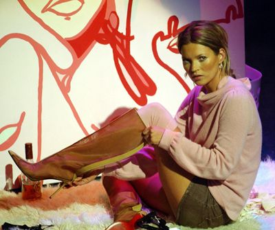 Galerie Kate Moss - Frühstücksfernsehen - Bildquelle: dpa
