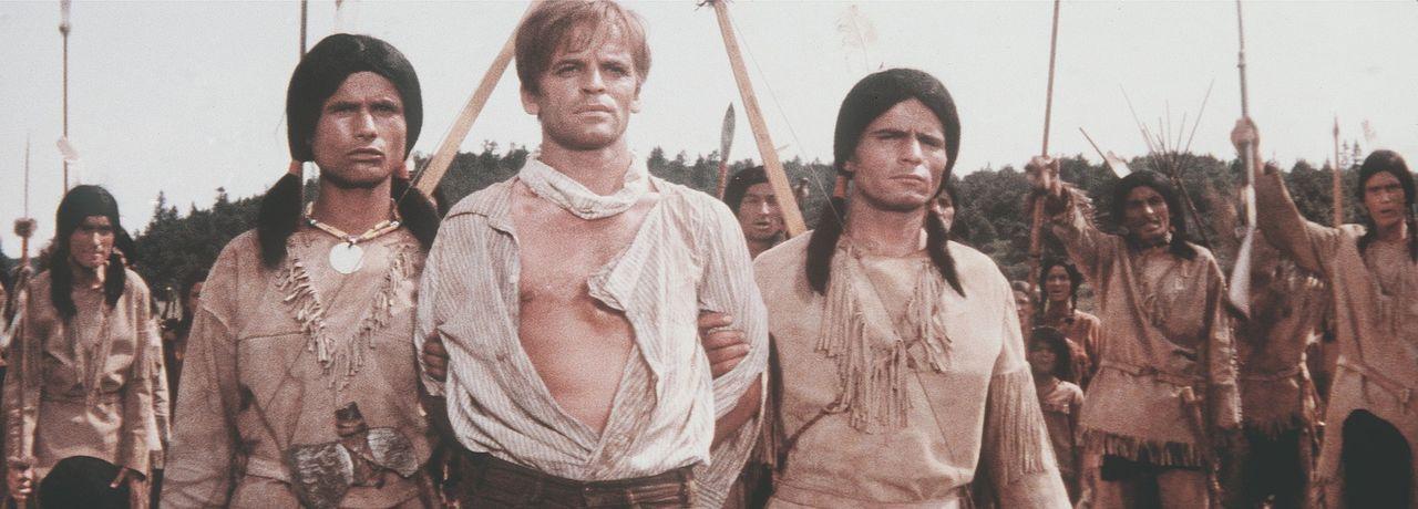 Endlich ist der Übeltäter gefasst: Luke (Klaus Kinski, r.) ... - Bildquelle: Columbia Pictures