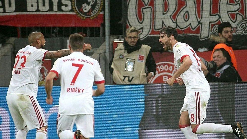 Martinez brachte Bayern in der 32. Minute in Führung - Bildquelle: PIXATHLONPIXATHLONSID