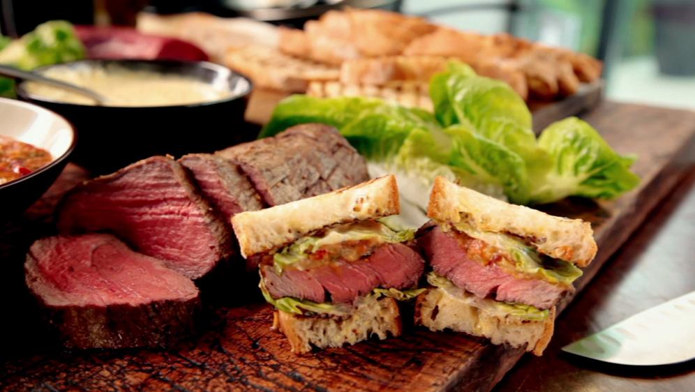 Saftige Steak-Sandwiches! - Bildquelle: sixx