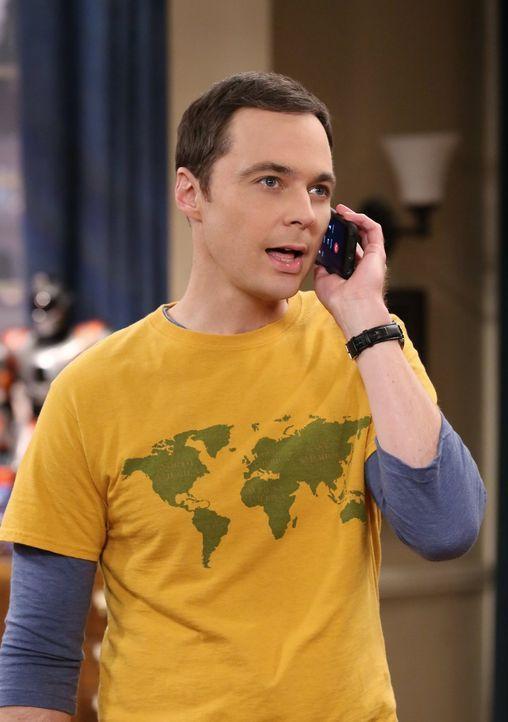 Sheldon (Jim Parsons) plagt ein Ohrwurm, und er kommt einfach nicht darauf, um welchen Song es sich handelt. Daher denkt er, er wird wahnsinnig - wi... - Bildquelle: 2015 Warner Brothers