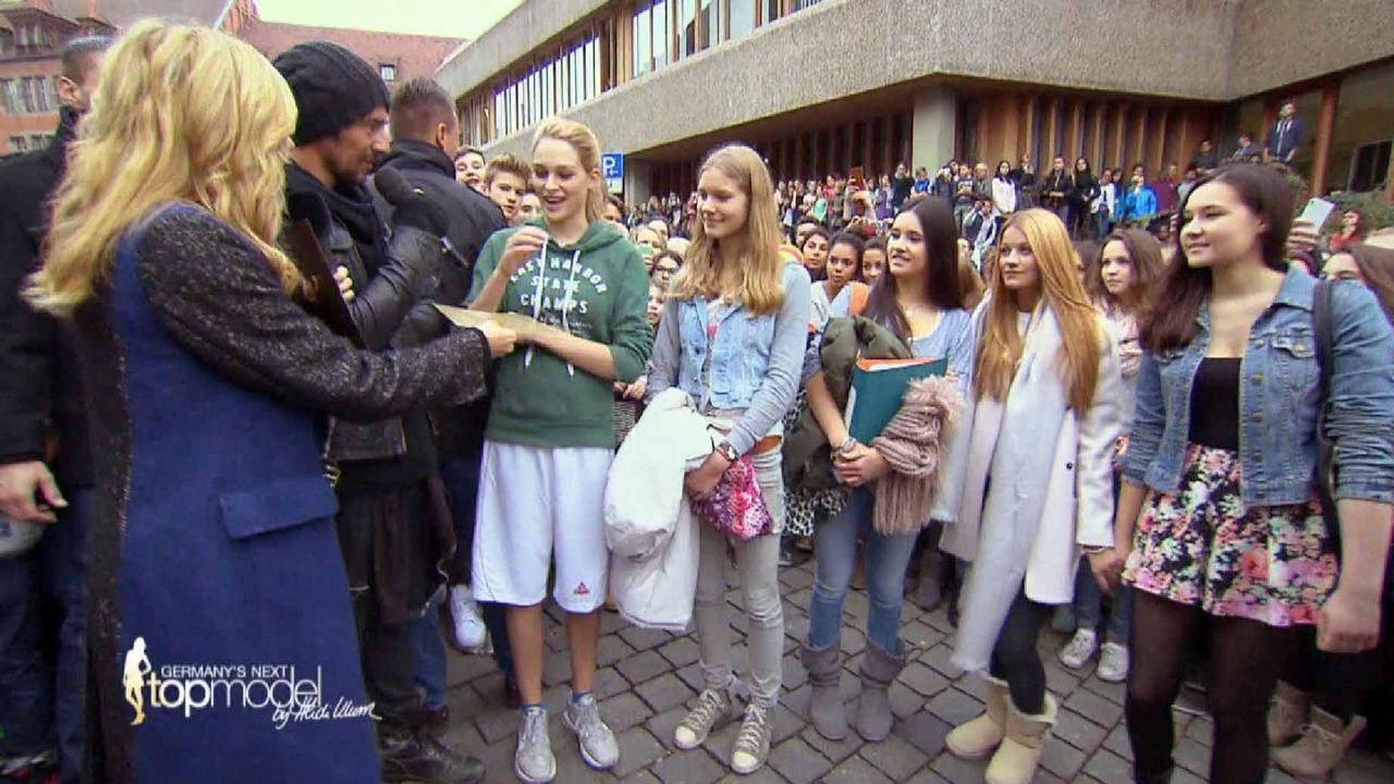 GNTM-10-Sendung02_060 - Bildquelle: ProSieben