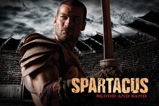 Spartacus: Blood and Sand - Spartacus - Plakatmotiv - mit Andy Whitfield - Bi...