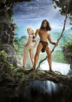 Tarzan - Die Liane fest im Griff, ist der muskulöse Tarzan wildentschlossen:...