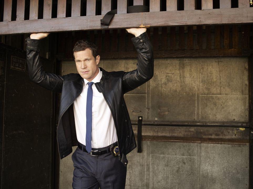 (1. Staffel) - Sagt Verbrechern den Kampf an: Detective Al Burns (Dylan Walsh) ... - Bildquelle: 2011 CBS Broadcasting Inc. All Rights Reserved.