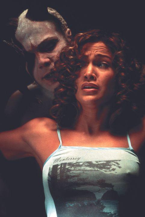 Als sich Psychologin Catherine Deane (Jennifer Lopez, r.) auf eine Reise in die irren Hirnwindungen des Psychopathen und Serienkillers Carl Stargher... - Bildquelle: Kinowelt Filmverleih