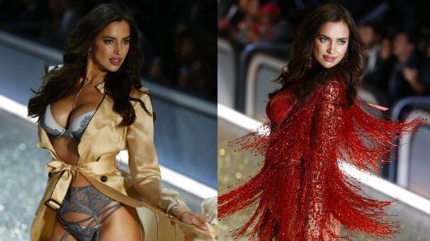 """Victoria's Secret 2016""-Model Irina Shayk: Schwanger in Dessous üb..."