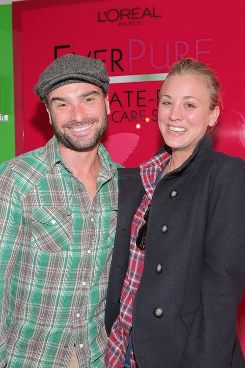 Kaley Cuoco und Johnny Galecki - Bildquelle: AFP