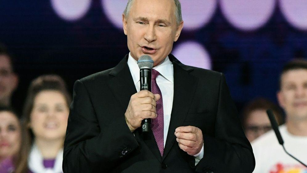 Putin: Werden unsere Sportler nicht an Teilnahme hindern - Bildquelle: AFPSIDKIRILL KUDRYAVTSEV