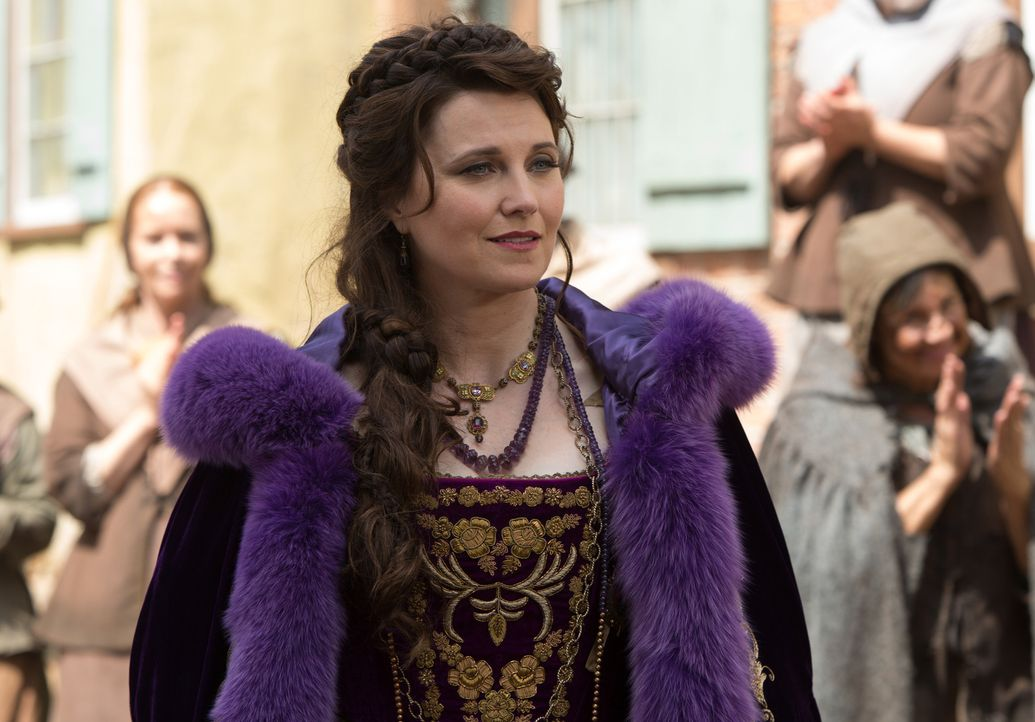 Countess Marburg (Lucy Lawless) stattet Mercy einen Besuch ab und macht ihr ein Angebot ... - Bildquelle: 2015 Fox and its related entities. All rights reserved.