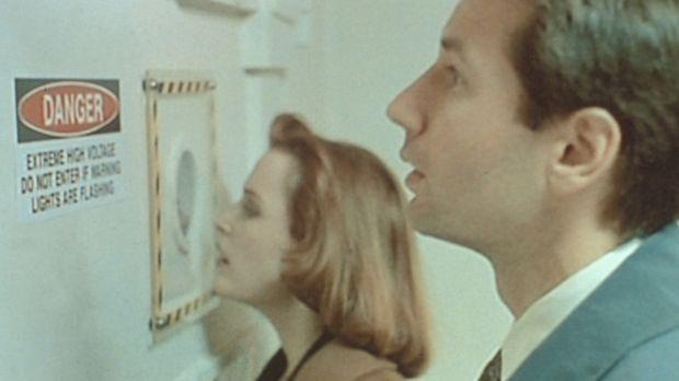 Ein Teilchenbeschleuniger scheint die Lösung für das Rätsel zu sein. Scully (...