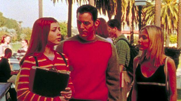 Willow (Alyson Hannigan, l.), Xander (Nicholas Brendon, M.) und Buffy (Sarah...