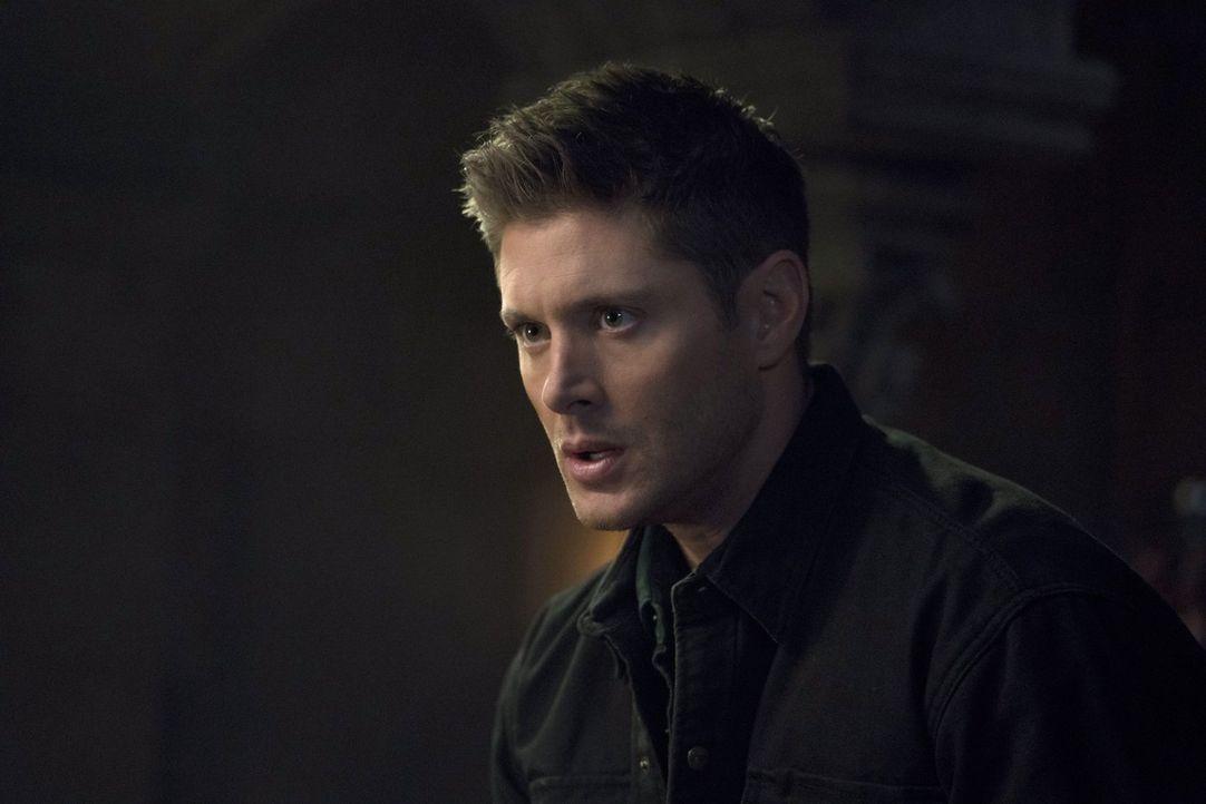 Eigentlich hatte Dean (Jensen Ackles) sich fest vorgenommen, die Finsternis zu töten, sobald sich ihm die Möglichkeit bietet, doch dann kommt alles... - Bildquelle: 2014 Warner Brothers