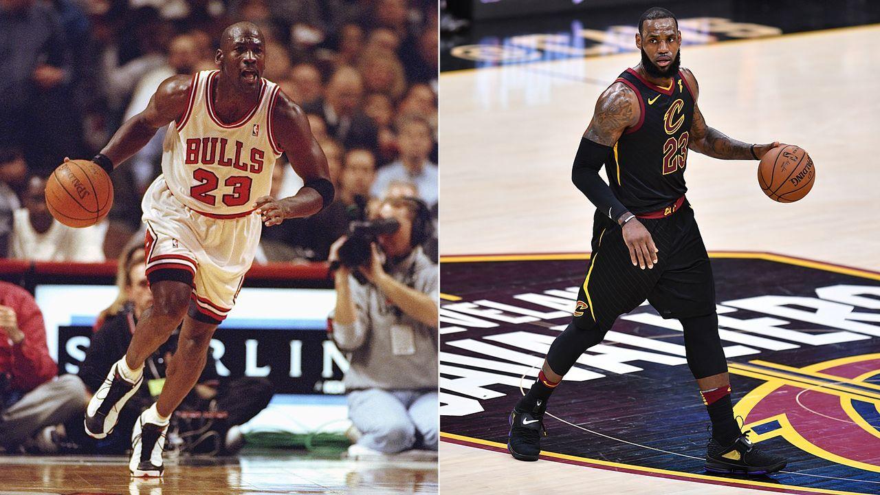 Jordan vs. James - Duell der Giganten