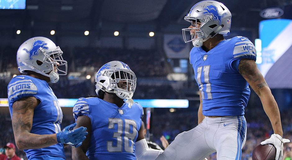 Detroit Lions - Bildquelle: 2017 Getty Images