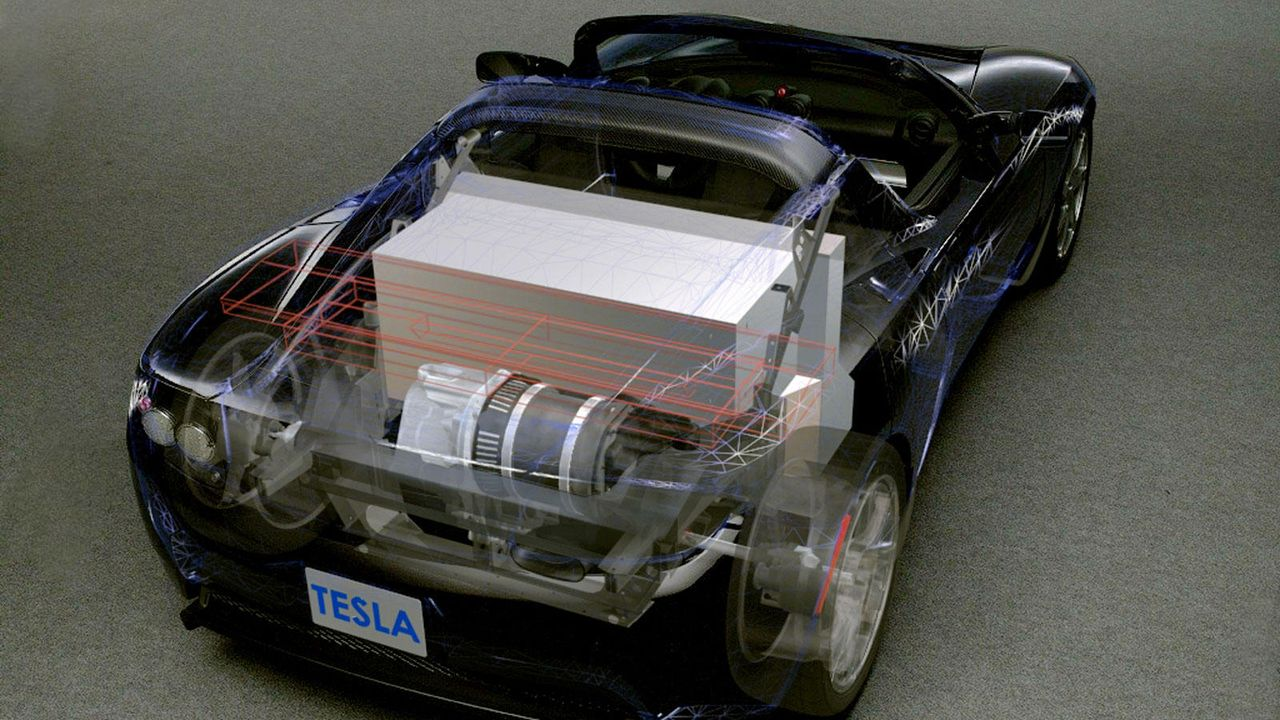 Tesla Roadster - Bildquelle: dpa