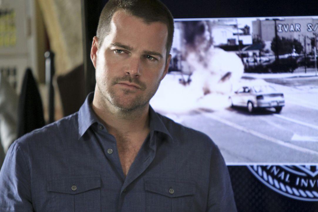 Versucht, gemeinsam mit seinen Kollegen einen neuen Fall aufzudecken: Callen (Chris O'Donnell) ... - Bildquelle: CBS Studios Inc. All Rights Reserved.