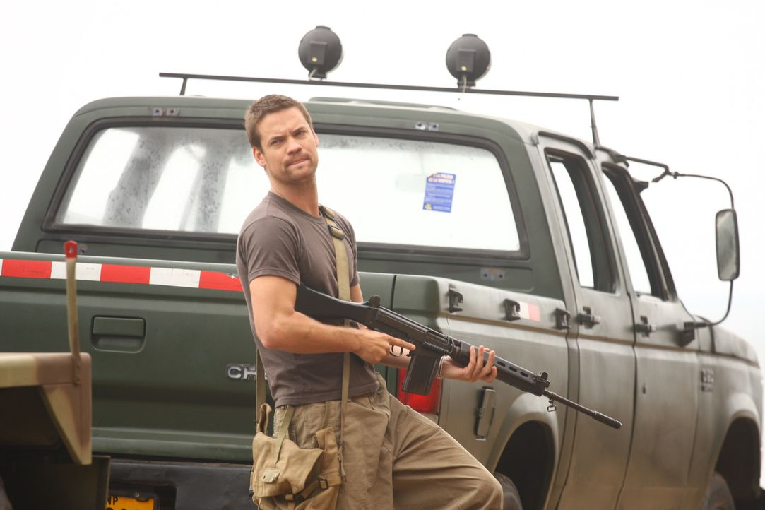 Gerät in die Hände der korrupten peruanischen Armee: Archäologe Jack Wilder (Shane West) ...