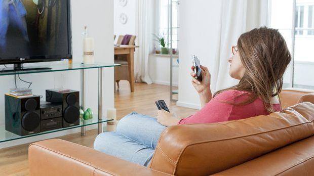 Smartphone-als-Fernbedienung
