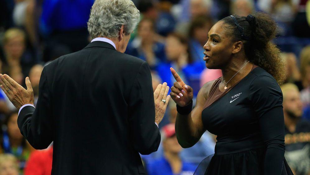Williams erhält eine Strafe für ihren Totalausfall - Bildquelle: Getty Images