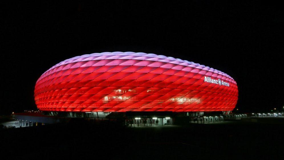 Vielleicht bald Finalspielstätte: Die Allianz Arena - Bildquelle: FIROFIROSID