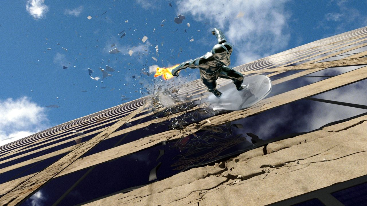 """Der """"Silver Surfer"""" (Doug Jones) bewohnt einen fremden Planeten und wird von dessen Herrscher zur Erde geschickt, um eine gefährliche Mission zu erf... - Bildquelle: Twentieth Century Fox"""