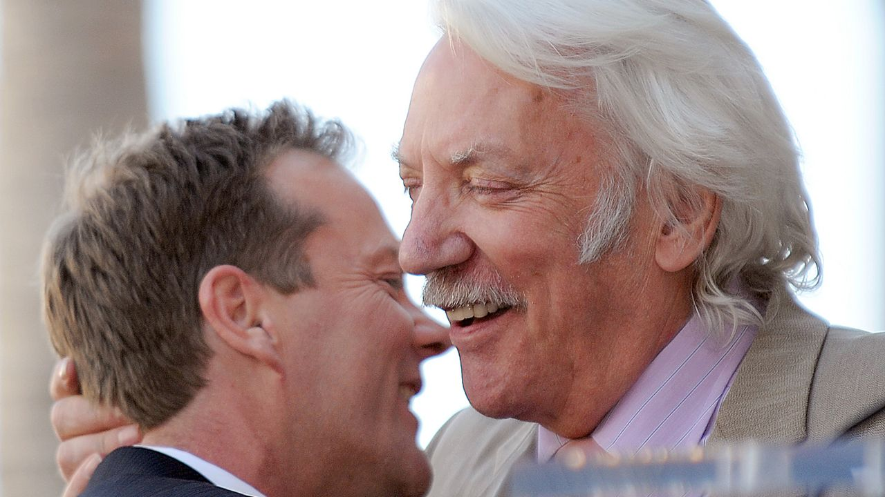 Kiefer-Sutherland-Donald-Sutherland-08-12-09-AFP.jpg - Bildquelle: AFP ImageForum