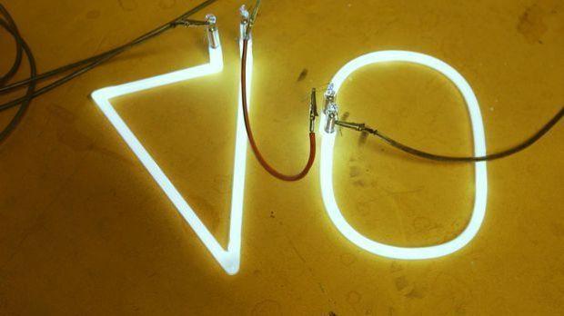 Neon-Reklame: Wie funktioniert's