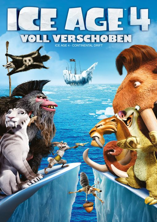 ICE AGE 4 - VOLL VERSCHOBEN - Plakatmotiv - Bildquelle: TM &   2012 Twentieth Century Fox Film Corporation. All rights reserved.