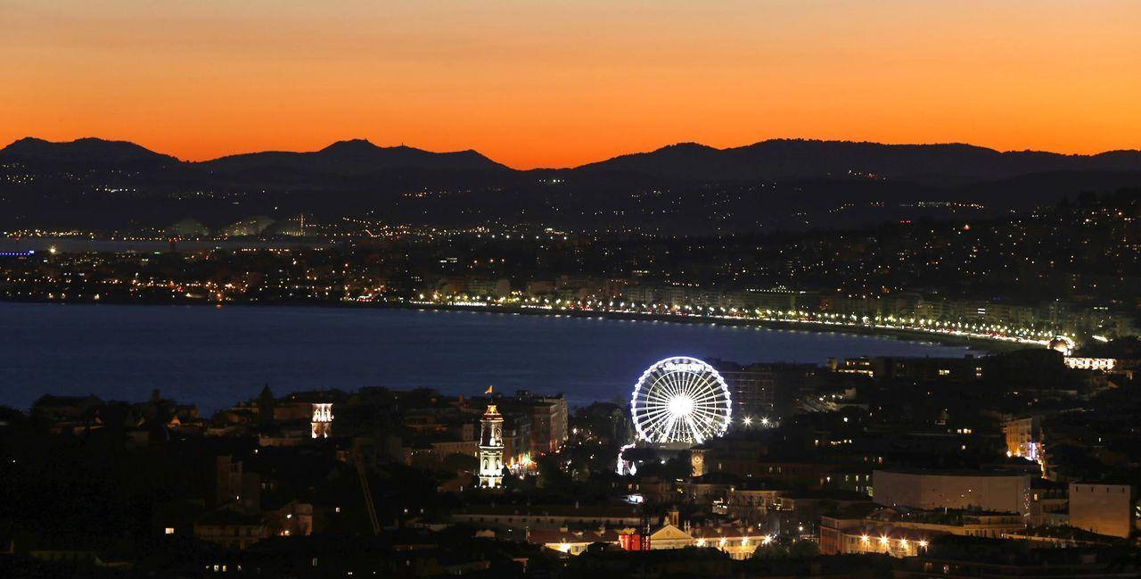 Nizza-Abendstimmung-AFP - Bildquelle: AFP Photo