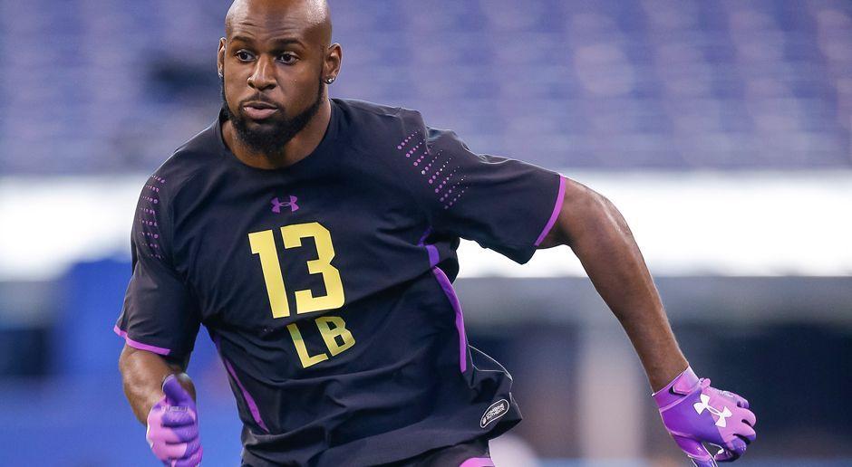 22. Pick - Tennessee Titans: LB Rashaan Evans - Bildquelle: getty