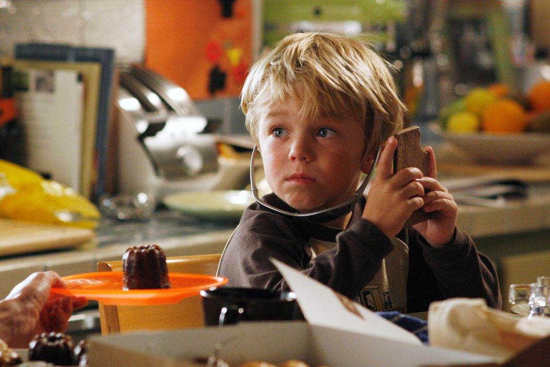 Ahnt nicht, dass es seiner Schwester schlecht geht: Cooper (Maxwell Perry Cotton) ... - Bildquelle: Disney - ABC International Television