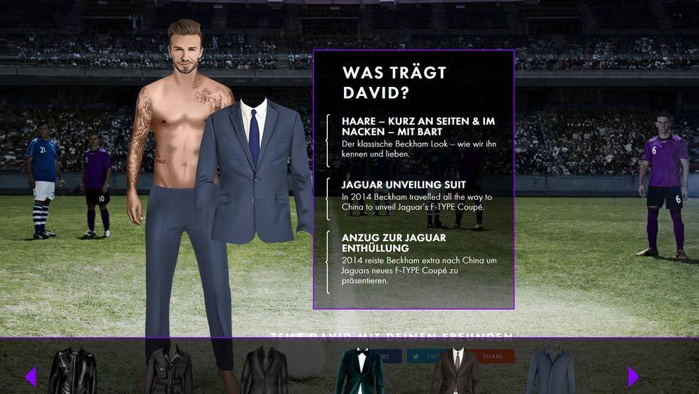 Super Style David Beckham – 40 Jahre, 40 Looks - SIXX XL97