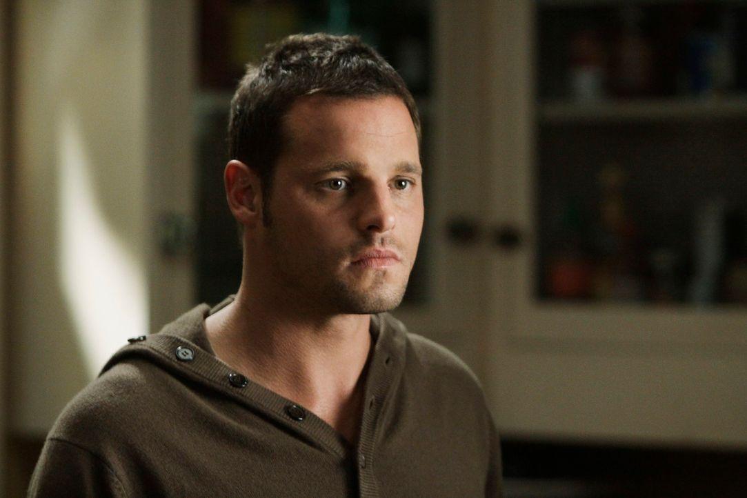 Ist überrascht, als Izzie plötzlich wieder vor ihm steht: Alex (Justin Chambers) ... - Bildquelle: Touchstone Television