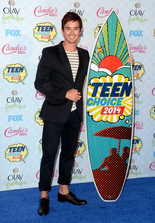 Teen-Choice-Awards-Tyler-Blackburn-140810-getty-AFP - Bildquelle: getty-AFP