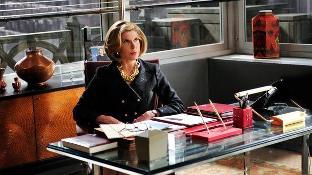 Caitlin hat gekündigt und Diane (Christine Baranski) will alles tun, sich doc...